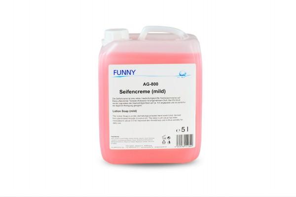 Seifencreme 5l, mikroplastikfrei