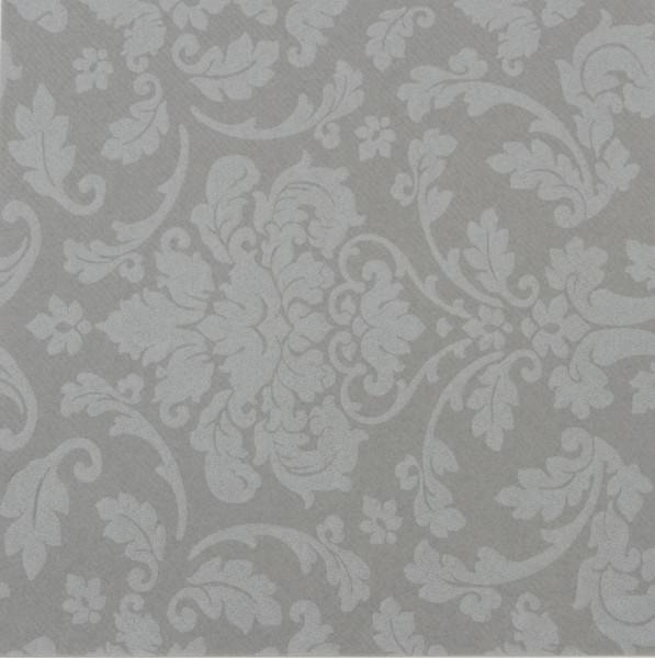 Airlaid-Motivserviette DAUPHINE grau