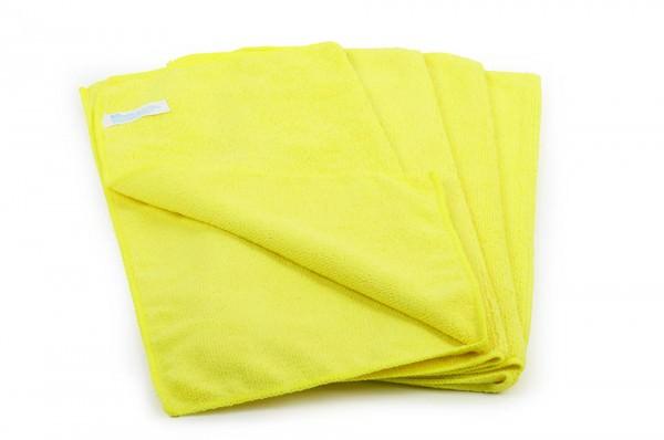 Mikrofasertuch, gelb, 40x40cm