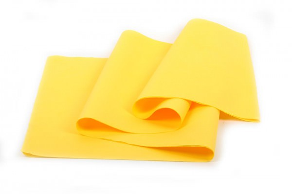 Airlaid Tischtuchrolle gelb