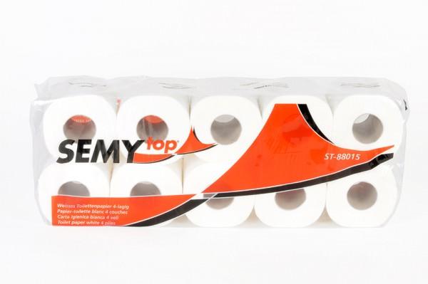 Toilettenpapier SemyTop, 4 Lagen
