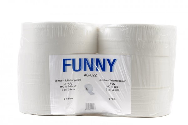 Jumbo Toilettenpapier Funny