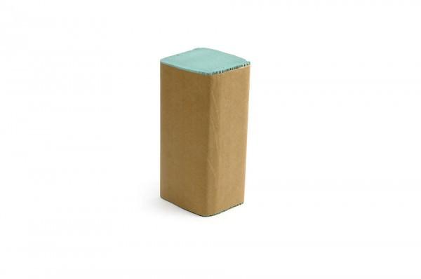 Papierhandtuch grün, ZZ/V-Falz, 1-lagig