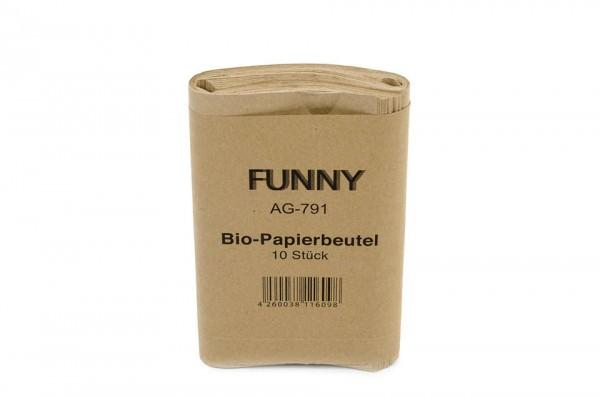Bio-Papierbeutel 10l