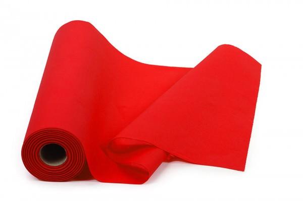 Airlaid Tischläufer, rot, 40x120cm